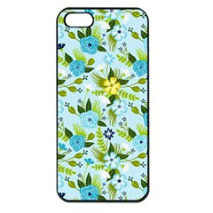 Flower Bucket Apple Iphone 5 Seamless Case (black) by Contest1888822