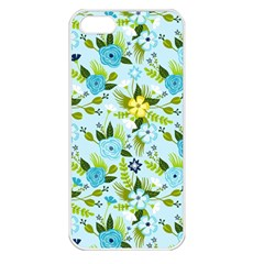 Flower Bucket Apple Iphone 5 Seamless Case (white) by Contest1888822