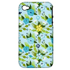 Flower Bucket Apple Iphone 4/4s Hardshell Case (pc+silicone) by Contest1888822