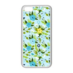 Flower Bucket Apple Iphone 5c Seamless Case (white) by Contest1888822