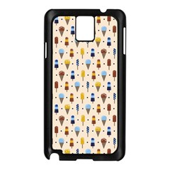 Ice Cream! Samsung Galaxy Note 3 N9005 Case (Black) by Contest1888822