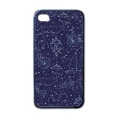 Constellations Apple Iphone 4 Case (black) by Contest1888822