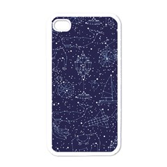 Constellations Apple iPhone 4 Case (White) by Contest1888822