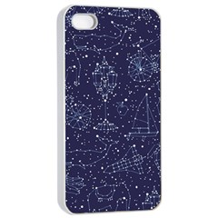 Constellations Apple Iphone 4/4s Seamless Case (white) by Contest1888822