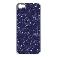 Constellations Apple Iphone 5 Case (silver) by Contest1888822