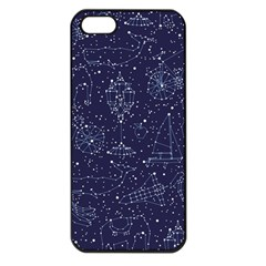 Constellations Apple Iphone 5 Seamless Case (black) by Contest1888822