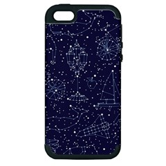 Constellations Apple Iphone 5 Hardshell Case (pc+silicone) by Contest1888822