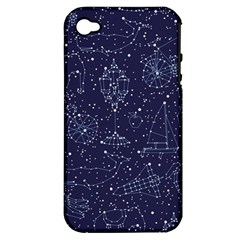 Constellations Apple iPhone 4/4S Hardshell Case (PC+Silicone) by Contest1888822