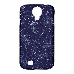 Constellations Samsung Galaxy S4 Classic Hardshell Case (pc+silicone) by Contest1888822
