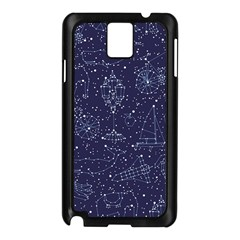 Constellations Samsung Galaxy Note 3 N9005 Case (black) by Contest1888822