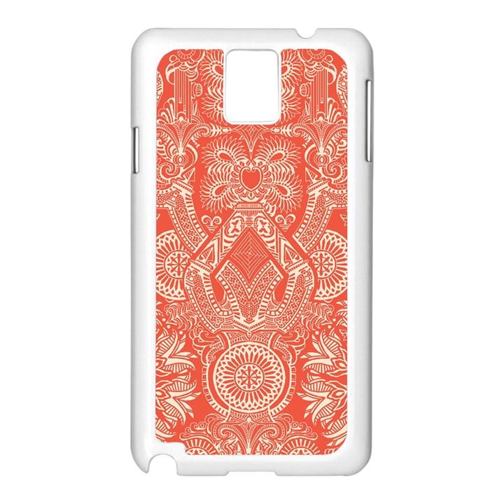 Magic Carpet Samsung Galaxy Note 3 N9005 Case (White)