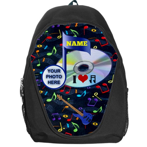 Music Backpack Bag #2 By Joy Johns   Backpack Bag   5n7rjb2h9kot   Www Artscow Com Front