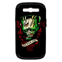 Never Die Samsung Galaxy S Iii Hardshell Case (pc+silicone) by TheTalkingDead