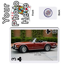 Triumph Cards By Terry Donn Hathcock   Playing Cards 54 Designs   Pai034gj115k   Www Artscow Com Front - Club3