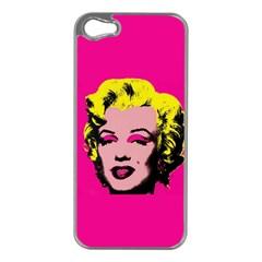Warhol Monroe Apple Iphone 5 Case (silver)