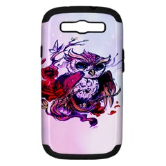 Spring Owl Samsung Galaxy S Iii Hardshell Case (pc+silicone) by TheTalkingDead