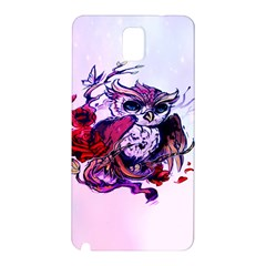 Spring Owl Samsung Galaxy Note 3 N9005 Hardshell Back Case