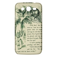 Alice In Bookland Samsung Galaxy Mega 5 8 I9152 Hardshell Case  by TheTalkingDead