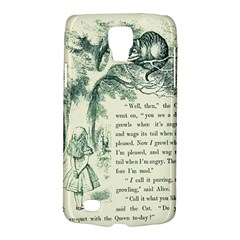 Alice In Bookland Samsung Galaxy S4 Active (i9295) Hardshell Case by TheTalkingDead