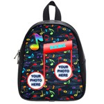 music small bookbag - School Bag (Small)