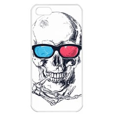 3death Apple Iphone 5 Seamless Case (white)