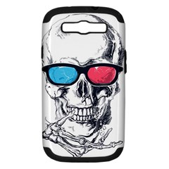 3death Samsung Galaxy S Iii Hardshell Case (pc+silicone) by Contest1889625