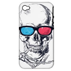 3death Apple Iphone 4/4s Hardshell Case (pc+silicone) by Contest1889625
