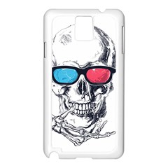 3Death Samsung Galaxy Note 3 N9005 Case (White) by Contest1889625
