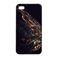 A Beautiful Beast Apple Iphone 4/4s Seamless Case (black) by Contest1889625