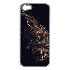A Beautiful Beast Apple Iphone 5 Case (silver) by Contest1889625