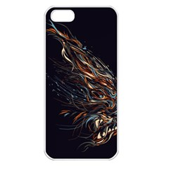 A Beautiful Beast Apple Iphone 5 Seamless Case (white) by Contest1889625