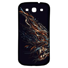 A Beautiful Beast Samsung Galaxy S3 S Iii Classic Hardshell Back Case by Contest1889625
