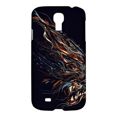A Beautiful Beast Samsung Galaxy S4 I9500/i9505 Hardshell Case