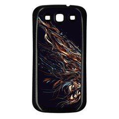 A Beautiful Beast Samsung Galaxy S3 Back Case (black) by Contest1889625