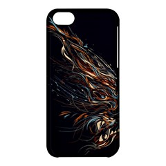 A Beautiful Beast Apple Iphone 5c Hardshell Case