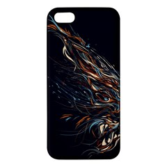 A Beautiful Beast Iphone 5s Premium Hardshell Case by Contest1889625