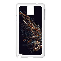 A Beautiful Beast Samsung Galaxy Note 3 N9005 Case (white) by Contest1889625