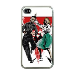 Dance Of The Dead Apple Iphone 4 Case (clear)