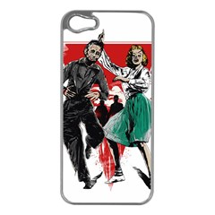 Dance Of The Dead Apple Iphone 5 Case (silver) by Contest1889625