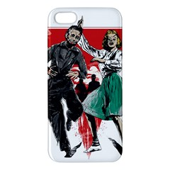 Dance Of The Dead Apple Iphone 5 Premium Hardshell Case by Contest1889625