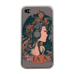 Medussa Turns To Rock Apple iPhone 4 Case (Clear) by Contest1889625