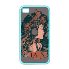 Medussa Turns To Rock Apple Iphone 4 Case (color) by Contest1889625
