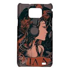 Medussa Turns To Rock Samsung Galaxy S II i9100 Hardshell Case  by Contest1889625