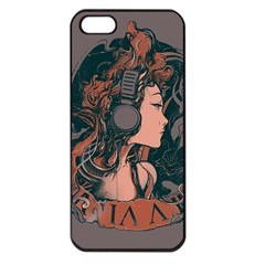 Medussa Turns To Rock Apple Iphone 5 Seamless Case (black) by Contest1889625