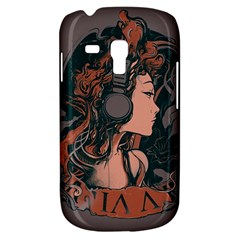 Medussa Turns To Rock Samsung Galaxy S3 Mini I8190 Hardshell Case by Contest1889625