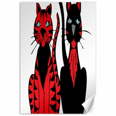 Cool Cats Canvas 20  X 30  (unframed) by StuffOrSomething