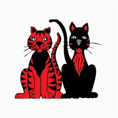 Cool Cats Canvas 24  X 36  (unframed) by StuffOrSomething