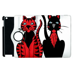 Cool Cats Apple Ipad 3/4 Flip 360 Case by StuffOrSomething