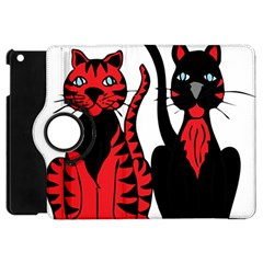 Cool Cats Apple Ipad Mini Flip 360 Case