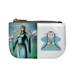 Just Elves (tek) By Chris Schreiber   Mini Coin Purse   L3x48hpqph8a   Www Artscow Com Front